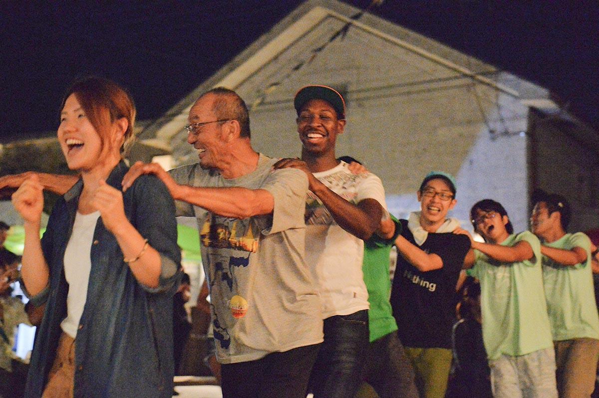 吉田村まつり みんなでアイリッシュダンス